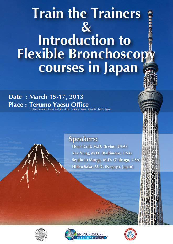 Train the Trainers & Introduction to Flexible Bronchoscopy